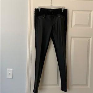 Faux Leather Legging Pants